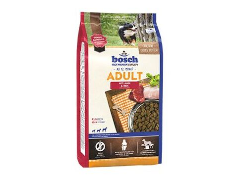 Bosch Dog Adult Lamb & Rice 15kg