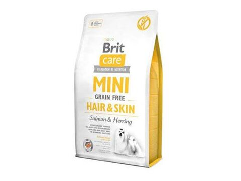 Brit Care Dog Mini Grain Free Hair & Skin 7kg