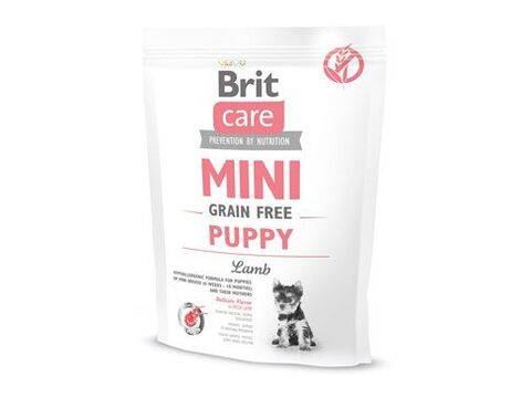 Brit Care Dog Mini Grain Free Puppy Lamb 400g