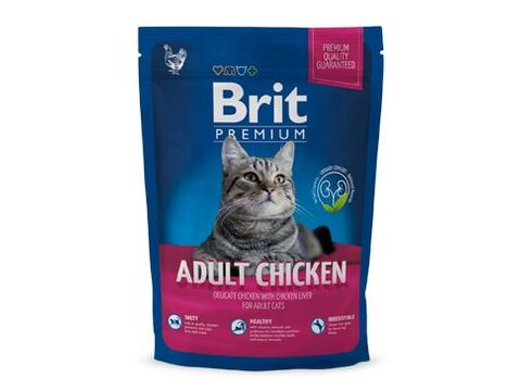 Brit Premium Cat Adult Chicken 80g vzorek