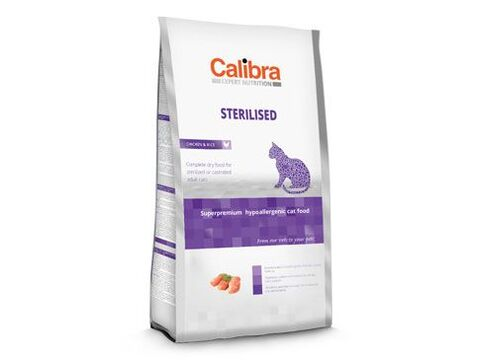 Calibra Cat EN Sterilised  7kg NEW