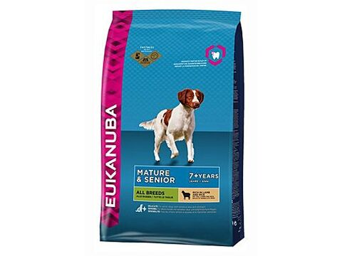 Eukanuba Dog Mature & Senior Lamb & Rice 2,5kg