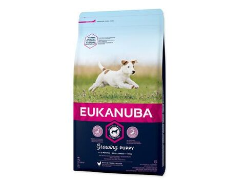 Eukanuba Dog Puppy & Junior Small 3kg