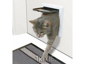 Trixie dvířka kočka plast 2P bílá Freecat Classic 1ks