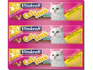 Vitakraft Cat pochoutka Stick mini Poultry/Liver 3ks