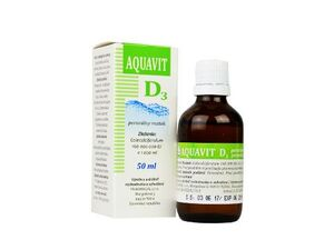 Aquavit D3 sol auv 50ml