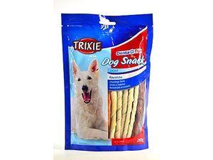 Trixie Dentafun tyčinky Dog Bits kroucená buvolí kůže 260g
