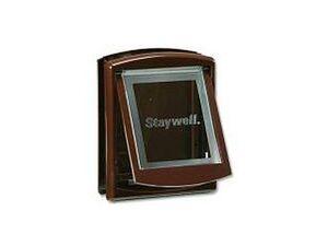 Dvířka plast Hnědá STAYWELL 755 35x29cm magnet 1ks