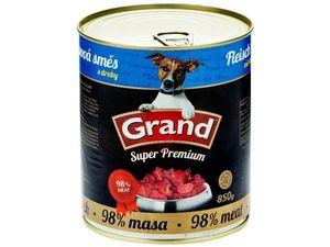 GRAND konzerva Superpremium pes směs droby 850g
