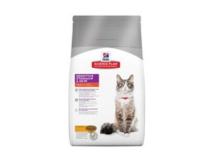 Hill's Feline Dry Sensitive Stomach s kuřetem 5kg