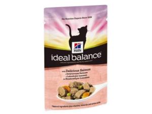 Hill's Feline Ideal Balance Adult lahodný losos kapsa 85g