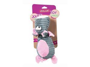 Zolux hračka pes kravička plyš ružová 25cm