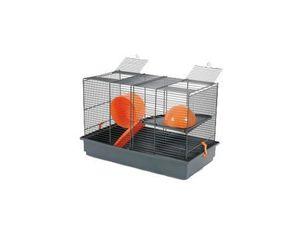 Klec pískomil,křeček INDOOR 50cm oranž s výbavou Zolux