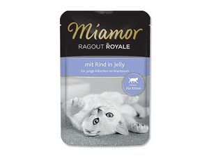 Miamor Cat Ragout Junior kapsa hovězí100g