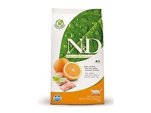 N&D Grain Free CAT Adult Fish & Orange 5kg
