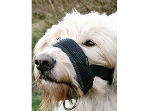 Trixie Náhubek fixační nylon podložený pes XL 23-34cm