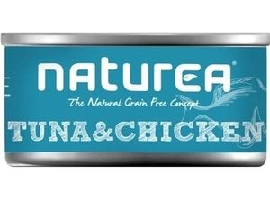 Naturea GF Cat Tuna & Chicken konzerva 80g