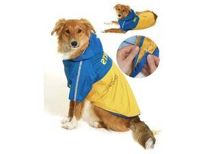 Obleček SPORT Žlutá/Modrá s kapucí 2V1 36cm KAR 1ks