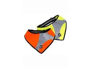 Šátek reflexní Hurtta Dazzle S/M žlutý