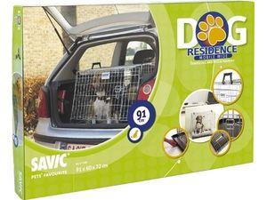Savic Dog Residence klec do auta zkosená široká 91x60x72cm