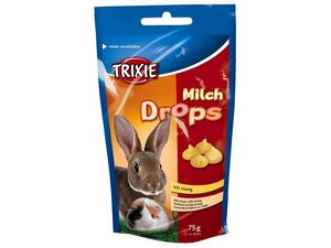 Trixie Milch Drops s medem pro hlodavce 75g