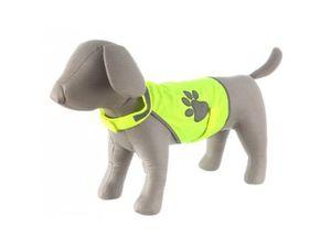 Karlie vesta reflexní Safety Dog žlutá krk48-56,bř68-78