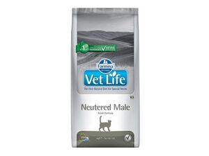 Vet Life Natural Cat Neutered Male 2kg