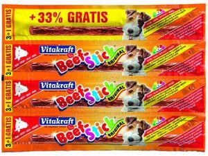 Vitakraft Dog pochoutka Beef Stick salami Rind 3+1ks