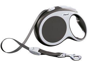 Vodítko flexi Comfort L pásek 8m/50kg šedá