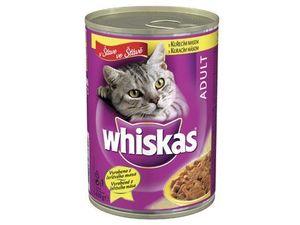 Whiskas konzerva kuřecí ve šťávě 400g