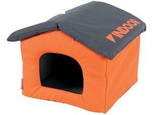Zolux domek pro hlodavce Indoor oranžová/šedá