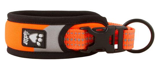 Obojek Hurtta Lifeguard Dazzle 45-55cm oranžový  28e9ae8f65
